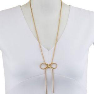 NIB Stella & Ruby Bow Necklace
